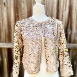 Forever 21 Flip-sequin Formal Jacket